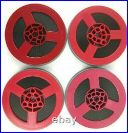 4 vtg 1970 PLANET OF THE APES Battle, Conquest, Escape Super 8 8mm Movie Film Reel