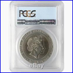 50 Years Planet of the Apes 2oz Hgh Relief Silver Coin PCGS MS70 Tuvalu 2018