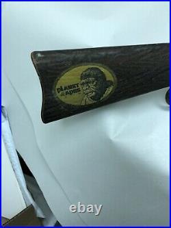 68' POTA Mattel Rapid Fire Rifle TOY ZERO Planet of the Apes sticker working EX+