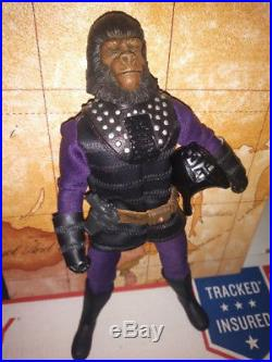 8 Custom Mego Beneath The Planet Of The Apes General Ursus Collora Ultra Rare