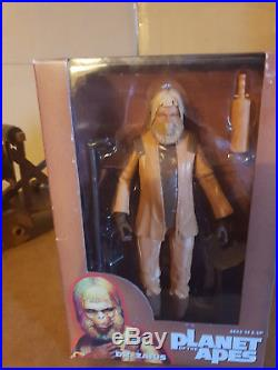 9 Vintage Mego Planet of the Apes Silver Soldier Ape Action Figure Rare Variant