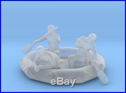 9 inch Planet of the Apes Icarus Spaceship 3D Printed Stewart in Chamber & RAFT