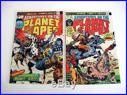 ADVENTURES ON THE PLANET OF THE APES High Grade Lot 9 Books Guide $157.50