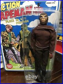 AHI Action Apemen Retro Repro 8 Action Figure-BrentzDolz Both Figures Clamshel