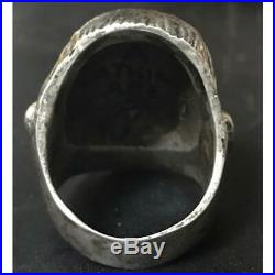A BATHING APE x CRAZY PIG Cornelius Ring Silver 925 US10.5 PLANET OF THE APES