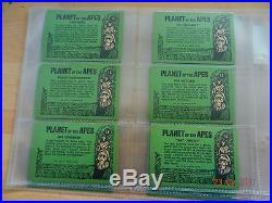 A & B C planet of the apes full set