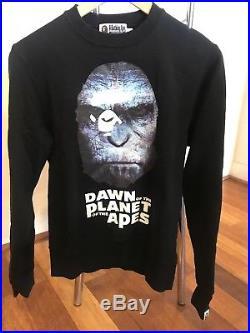 A Bathing Ape Bape Planet Of The Apes Sweatshirt Jumper Mens S