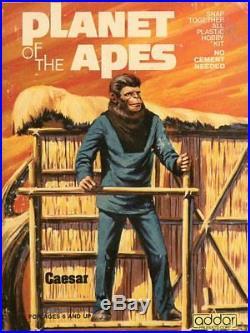 Addar Planet of the Apes Caesar Plastic Figure Kit #106U