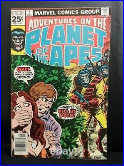 Adventures On The Planet Of The Apes 1,2,3,4,5,6,7,8,9,10,11 Complete Comic Lot
