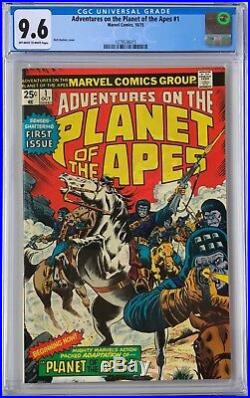 Adventures On The Planet Of The Apes 1 (oct 1975) Marvel Cgc 9.6