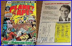 Adventures On The Planet Of The Apes 5 Rare 30 Cent Price Variant. 30 Vf- 1975