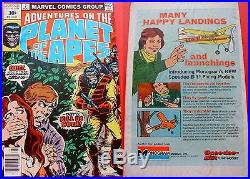 Adventures On The Planet Of The Apes 7 Rare 30 Cent Price Variant. 30 Vg+ 1975