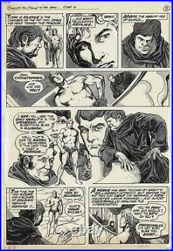 Adventures On The Planet Of The Apes # 9 Page 47 Marvel 1976 Alfredo Alcala