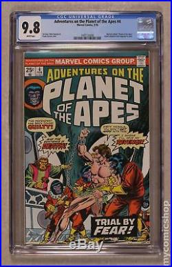 Adventures on the Planet of the Apes (1975) #4 CGC 9.8 1497123006