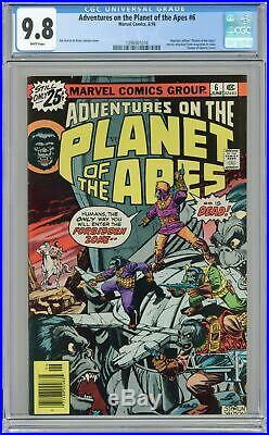 Adventures on the Planet of the Apes #6 1976 CGC 9.8 1396901016
