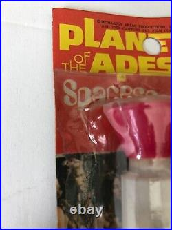 Apjac Larami Space scope Planet of the Apes Vintage 1974 POTA-rack toy seal-pink