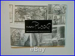 Art Of Ploog Planet Of The Apes Original Art Ed Signed (#9/42) Rare Oop