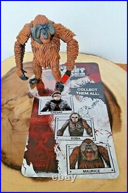 Authentic loose NECA Dawn of the Planet of the Apes MAURICE Figure! US SELLER