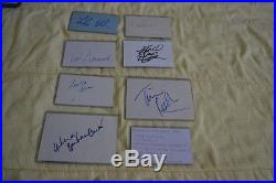Autographs Of Planet Of The Apes 2001