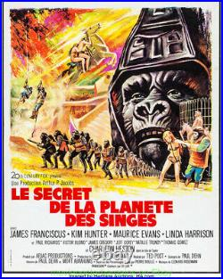BENEATH THE PLANET OFTHE APES MOVIE POSTER Original French Petite 18x23 FOLDED