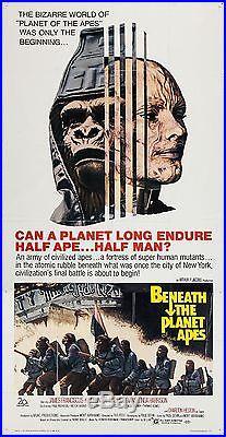 BENEATH THE PLANET OF THE APES 3 THREE SHEET POSTER 41 X 78 Charlton Heston