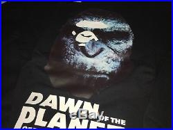 Bape A BATHING APE x DAWN PLANET OF THE APES Men CAMO L black Shirt Crewneck