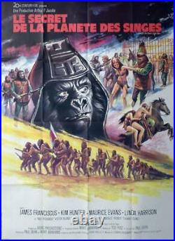 Beneath The Planet Of The Apes Original Large French Movie Poster
