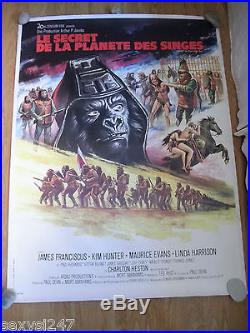 Beneath The Planet Of The Apes Original Linen Backed 1970 Cinema Poster 47 X 63