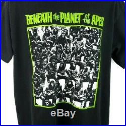 Beneath The Planet Of The Apes T Shirt Vintage 90s 1970 Movie Made In USA XL