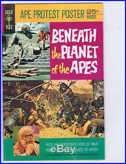 Beneath the Planet of the Apes #nn Gold Key 1970