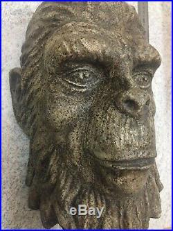 CAESAR statue face PLANET OF THE APES prop commemorative display Brian Penikas