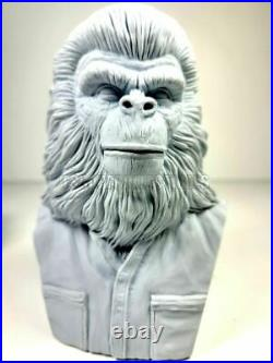 Caesar Bust Conquest Of The Planet Of The Apes Unpainted Model