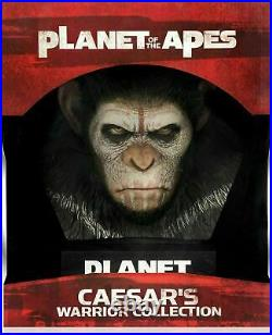 Caesar's Warrior Collection Planet of the Apes Blu-ray 3D + Blu-ray New