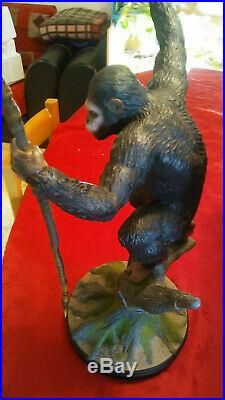 Caesar the planet of the apes pop culture shock no sideshow statue