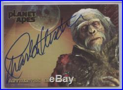 Charlton Heston As Thade's Father 2001 Topps Planet Of The Apes Auto Ssp