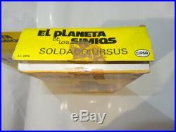 Cipsa Planet Of The Apes Ursus In Original Box Htf Mexican Mego