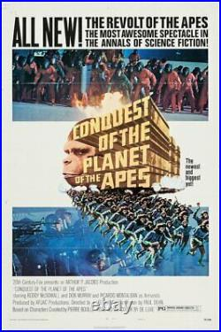 Conquest of the Planet of the Apes US One Sheet -Original vintage movie poster