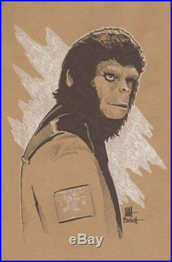 Conspiracy of the Planet of the Apes p. 178 Dr. Cornelius Illo art by Matt Busch