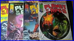Curtis Magazine Planet Of The Apes Issues 1-15 Vintage Issues! HIGH GRADE