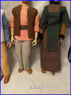 Custom Sculpted Planet of the Apes Realistic Looking Dolls With Custom Outfits