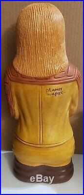 Custom painted vintage Planet Of The Apes Dr. Zaius Blow Mold Bank 17 Play Pal