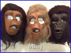 DON POST Mask Dr Zaius Cornelius Ursus Soldier Planet of the Apes POTA MONSTER