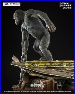 Dawn Of The Planet Of The Apes Ape Not Kill Ape Hqs+ Tsume Statue New. Pre-order