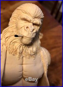 Deadeye Ape Bounty Hunter Planet of the Apes 1/6 resin model kit Nagle