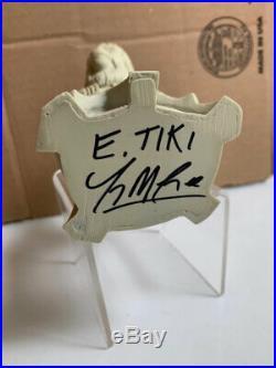 Electric Tiki Design DR ZAIUS mini-bust prototype. Planet of the Apes. Statue