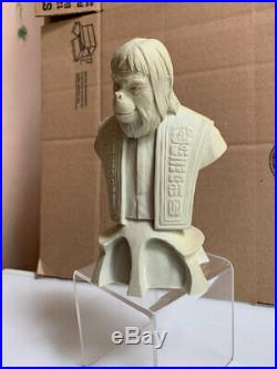 Electric Tiki Design DR ZAIUS mini-bust prototype. Planet of the Apes. Statue