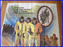 Escape From The Planet Of Apes Huge Original 1971 Cinema Poster 47 X 63 Inches