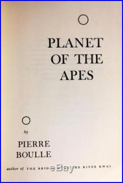 First Edition 1963 Planet Of The Apes Pierre Boulle Hardcover withDustjacket