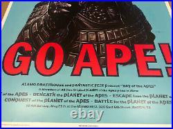 GO APE! MONDO poster print (XX/295) Jason Edmiston 2012 Planet of the Apes