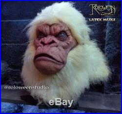 Gorilla Albino Rampage Latex Mask Costume Life Planet Of The Apes- Never Seen